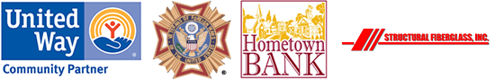 United Way, Veterans, Hometown Bank